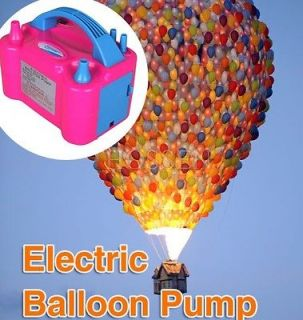 110V 600W Two Nozzle Balloon Inflator Electric Balloon Pump Party Air