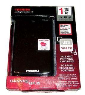 Ultra Slim 2 5 Toshiba Canvio USB 3 1 TB External 5400 RPM Hard Drive
