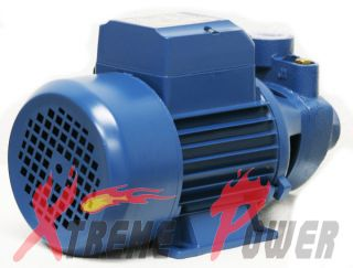 1HP Electric Water Pump Pool Farm Pond 1 inch in Outlet