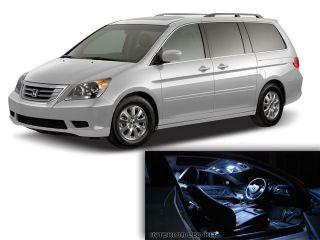 13X White LED Lights Interior Package for Honda Odyssey 2005 2012