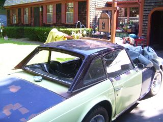 1971 Triumph TR6 Parts Car or Restore with Hardtop