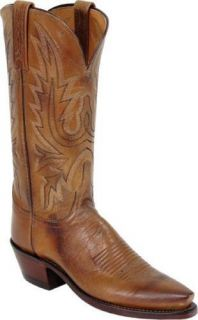 Womens 1883 by Lucchese Western Boots N4540 5 4 Tan Mad Dog Goat