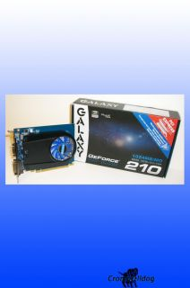 Galaxy GeForce 210 1GB DDR2 PCI Express Graphics Card BB21GGE8HX3BMX