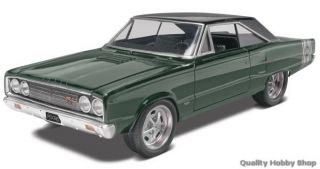 Revell 1 25 Scale 1967 Dodge Coronet Muscle Car Skill 2 Model Kit 4906