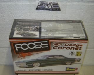 Revell 85 4906 Model Kit 1967 Dodge Coronet FOOSE Edition in Stock gms