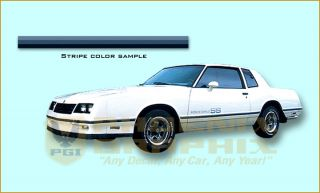 1983 1984 Chevrolet Monte Carlo SS Super Sport Decal & Stripe Kit