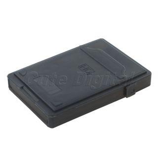 Portable 2 5 External Hard Disk Drive Case SATA IDE HDD Black