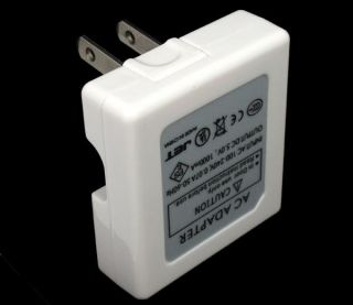 Dual 2 Port USB Wall AC Charger Adapter for iPhone iPod