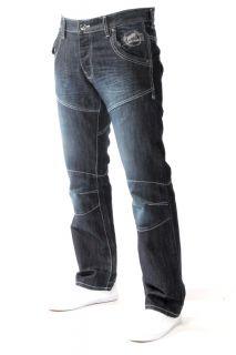 New Mens EM107 ETO Branded Designer Jeans Sizes 28 40