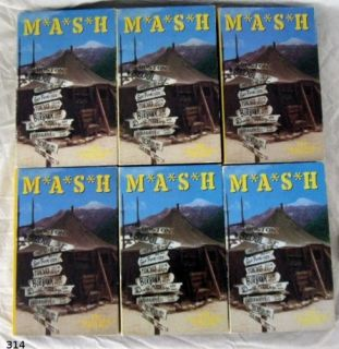 Mash VHS Tapes Collectors Ed 20th Century Fox