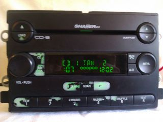 Radio 6 Disc CD Player Stereo 2006 Mustang Truck F150 250 350