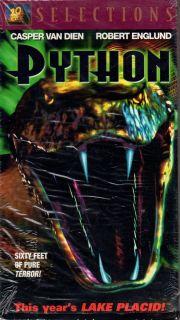 Robert Englund Python VHS 2000 20th Century Fox