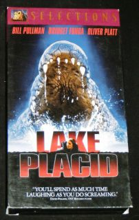 Lake Placid VHS Movie 20th Century Fox 1999 Bridget Fonda Bill Pullman