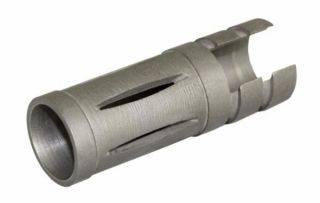ruger 10 22 stainless steel muzzle brake short reduces recoil flash
