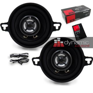 2011 Kicker KS35 Car Stereo 3 5 KS Series Speakers 2 Way 80 Watts 11