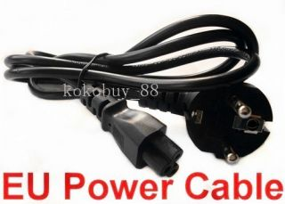H750 EU 3 Prong Laptop Adapter Power Cord Cable Lead