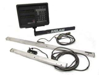 NICE!! ANILAM MINIWIZARD 2 AXIS DIGITAL READOUT DRO + SCALES