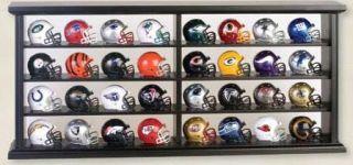 32 Total Mini Revolution Piece Pocket Size NFL Helmets with Display