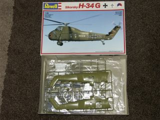 RARE SIKORSKY H 34 G Helicopter 148 Revell