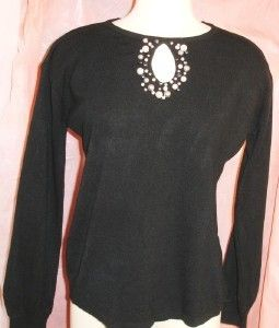 Mercer Street Studio Luxe 360 Womens Sweater Sz Med