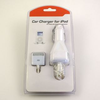 Cable Solutions 42 130 Car Charger for iPod / iPhone   Plugs into any
