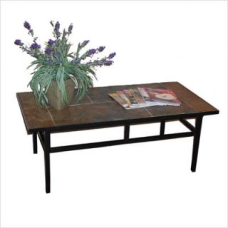 4D Concepts Coffee Table w Slate Top 601634