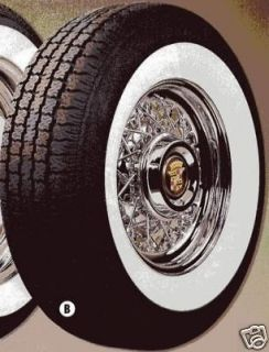 15 wide white wall tires in Car & Truck Parts