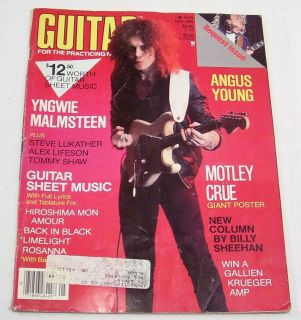 1985 Guitar for The Practicing Musician Magazine Vol 2 Number 7