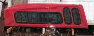 FIBERGLASS CAP TOPPER CAMPER 7 5 FT FOOT LONG BED CHEVY S10 S15 TRUCK