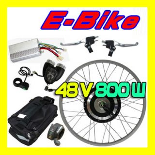 Front 48V 800W Electric Bicycle Engine Kit Conversion Hub Scooter