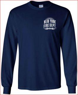 New York Fire Department T Shirt Tribal M L XL 2XL 3XL 4XL Short Long