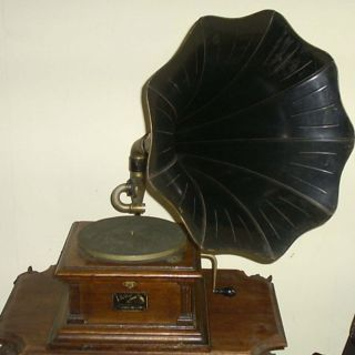 Antique Victor Talking Machine Phonograph Model 3 for Repair or Parts
