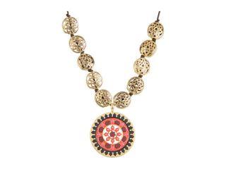 Lucky Brand Multi Enamel Pendant Necklace $55.99 $75.00 SALE