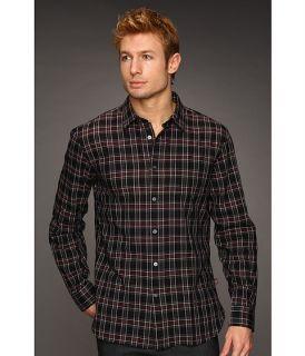 John Varvatos Point Collar Single Pocket Shirt