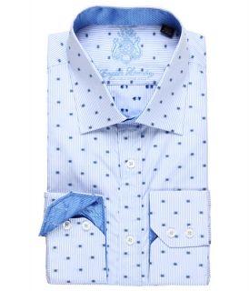 Laundry Blue Checked Dress Shirt w/ Jacquard Trim $65.99 $98.50 SALE