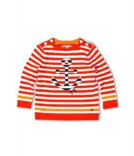 Juicy Couture Kids Striped Anchors L/S Sailor Pullover Sweater