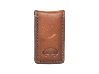 fossil estate leather mag money clip $ 20 00 fossil