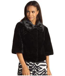 calvin klein black faux fur jacket $ 124 99 $