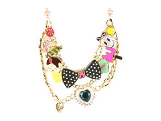 Betsey Johnson Candylane Candy Heart Necklace $155.00 Betsey Johnson