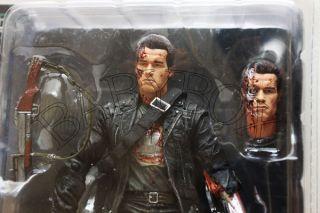 Terminator 2 Judgment Day T800 Final Battle Figure NECA