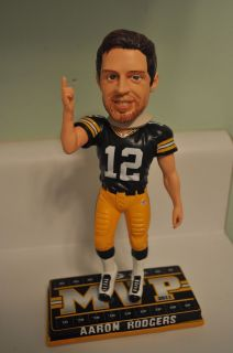 Aaron Rodgers Green Bay Packers NFL MVP Bobblehead Special Edition