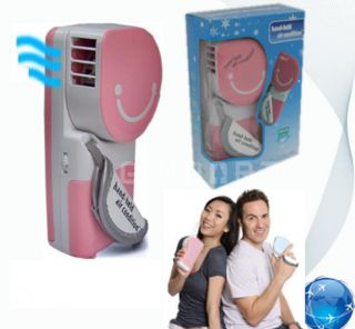 USB Mini Portable Hand Held Air Conditioner Cooler Fan