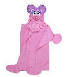 Sesame Street Abby Cadabby 100 Cotton Hooded Bath Towel