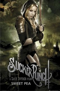 Movie Poster Sucker Punch Sweet Pea Abbie Cornish