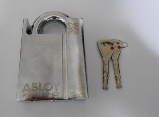 Brand New Abloy PL362 High Security Strongest Steel Padlock