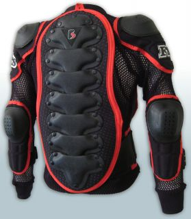 MX Motocross Youth Pressure Suit Body Armour Off Road Dirt Bike BMX