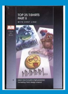 part aba d8kl02 top 25 t shirt designs 2 with kent lind dvd by
