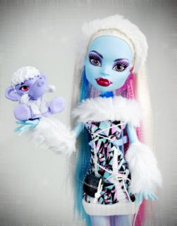 Monster High Abbey Bominable Doll with Pet Diary Brand New in Box