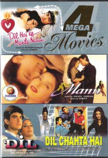 Hindi Indian 4 Movies DIL Chahta Hai Mann DIL DIL Hai Ke Manta Nahi