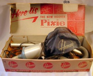 Vintage Hoover Pixie Vacuum Accessories Tool Cleaning Attachments